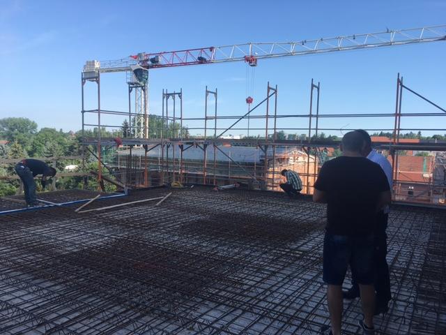 Tiefbau Leipzig - Fundamente, Erdarbeiten, Bodenplatten - Betonstahlbau