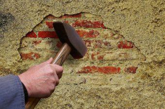 Fassadenputz – mineralischer Putz – Fassadensanierung in Halle, Leipzig und Umgebung