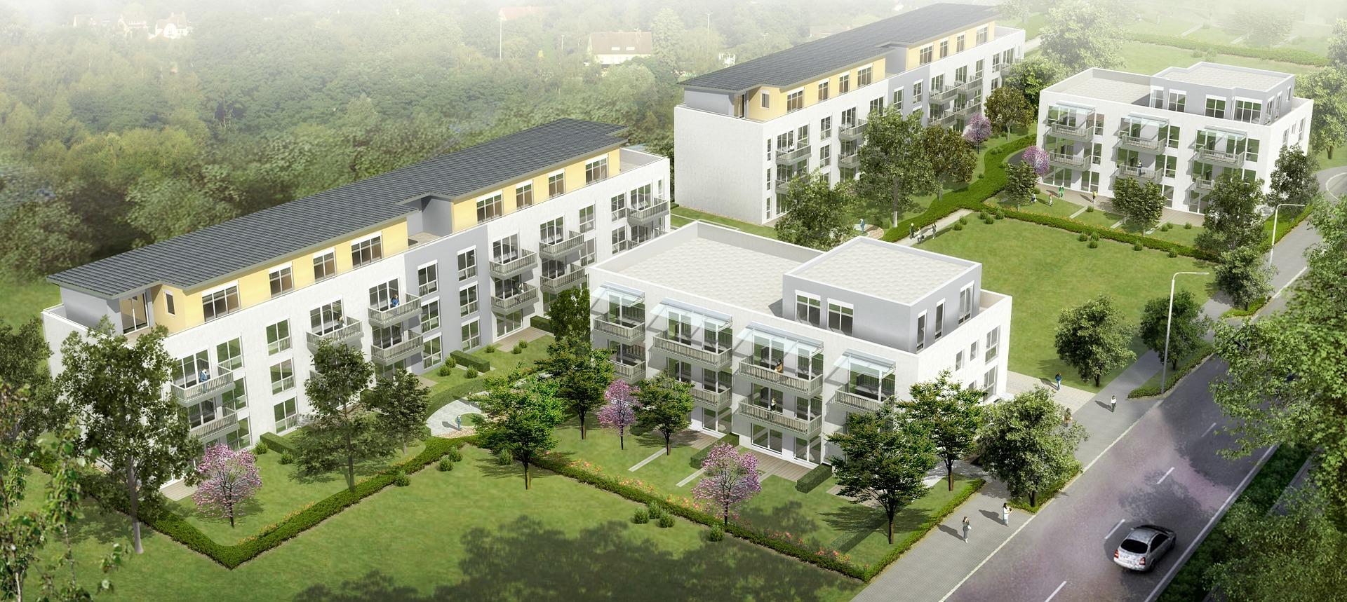 Mehrfamilienhaus - Neubau und Sanierung in Halle, Leipzig und Umgebung